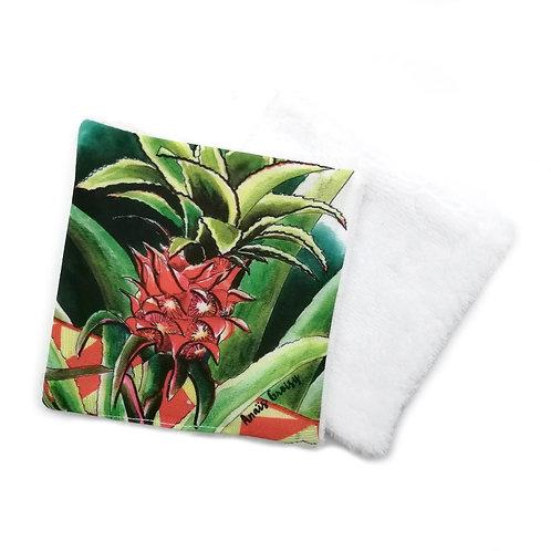 Lingette réutilisable -Ananas