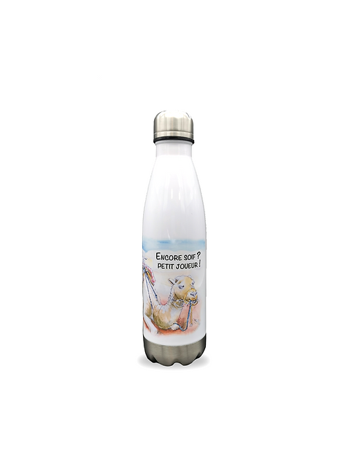 Bouteille isotherme Chameau
