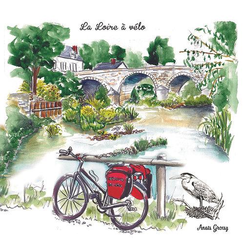 Carte Loire à Vélo - Candé