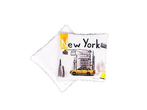 Lingette réutilisable New York