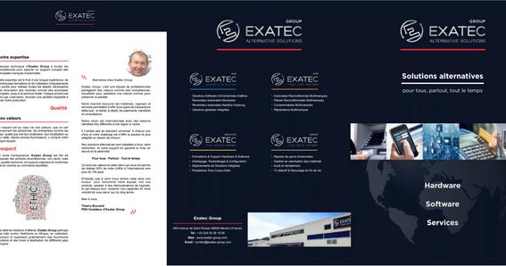 Brochure de présentation, flyers et signature de mail en respectant la charte graphique.