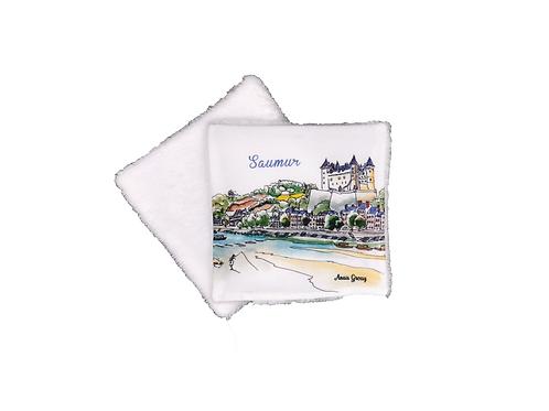 Lingette réutilisable Saumur