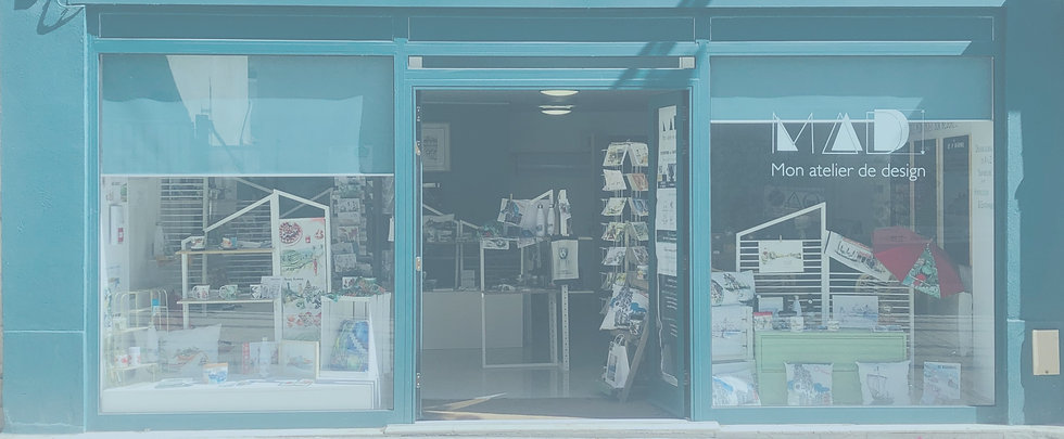 Boutique Orléans illustration carnet de voyage
