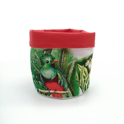 Vide poche motif Quetzal