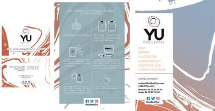 Création du logo, charte graphique et élaboration du flyer.