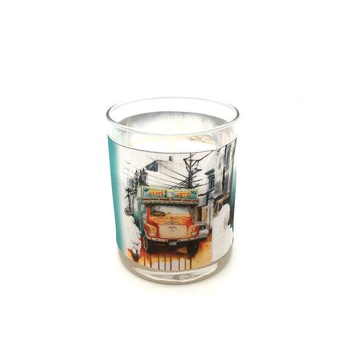 Bougie parfumée Camion népalais