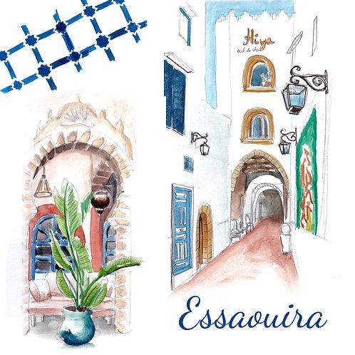 Carte Essaouira