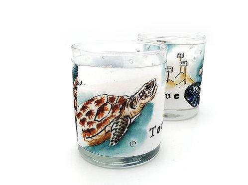 Bougie parfumée tortue