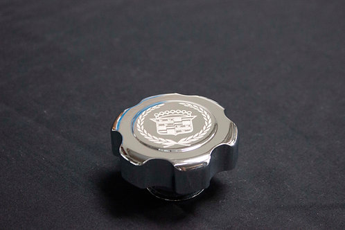 Laser Engraved Cadillac Oil Cap