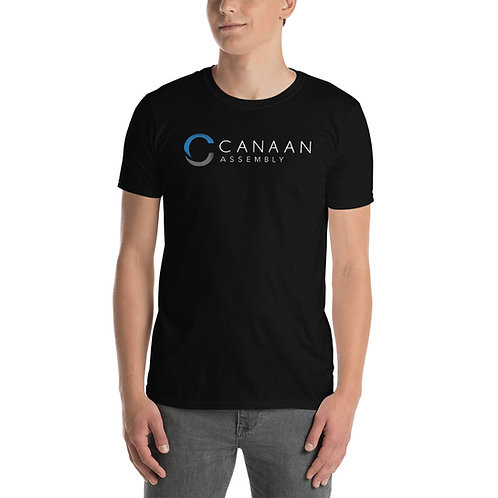 Canaan Unisex Black T-Shirt