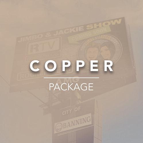 Copper Billboard Package