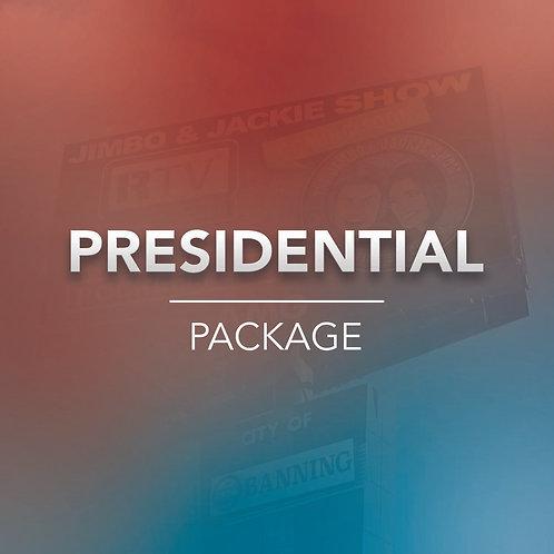 Presidential Billboard Package