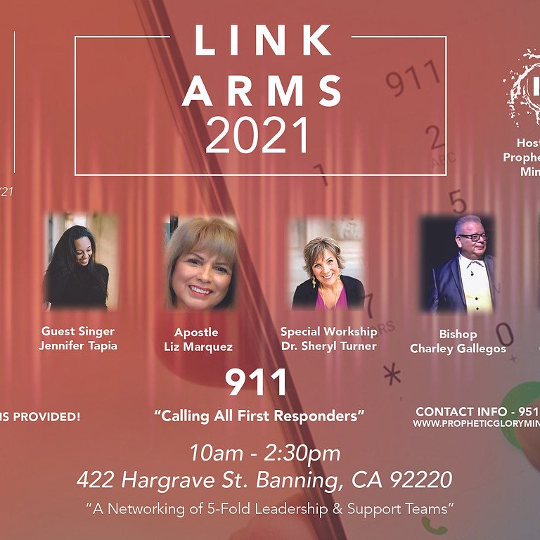 """Link Arms 2021 """"Calling All First Responders"""""""