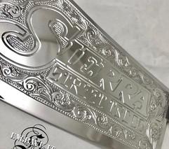 hand engraving