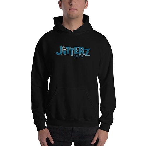 Jitterz Unisex Black Hoodie