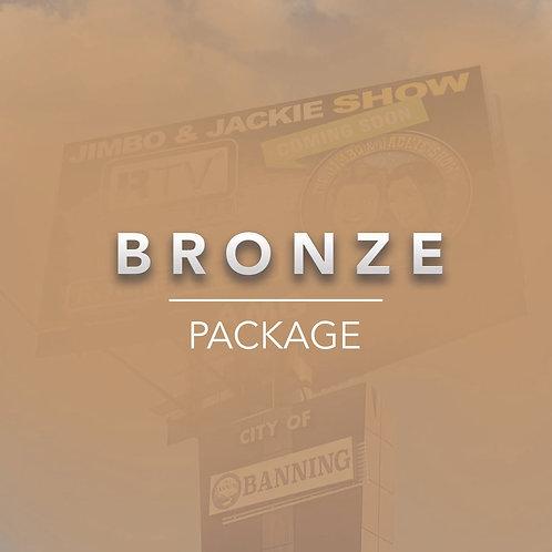 Bronze Billboard Package