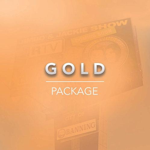 Gold Billboard Package