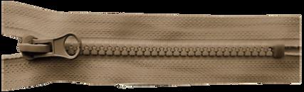 Тракторная неразъемная застежка-молния тип 5 тип 8