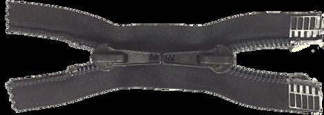 Застежка-молния разъемная с двумя замками тип 9