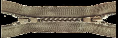Застежка-молния неразъемная с двумя замками Х-вида тип 9