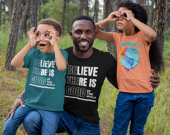 Good Around the Globe #Dogooder challenge #Dogooderchallenge, helping small businesses get loyal customers   corporate social responsibility meets the small business owner black father with his children .png