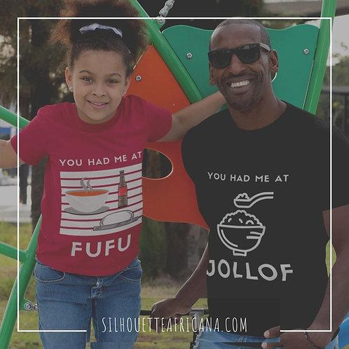 You Had Me at Fufu - Youth Short Sleeve T-Shirt