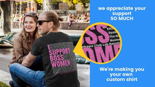 I Support BOSS WOMEN