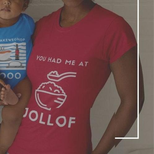 You Had Me at Jollof - Youth Short Sleeve T-Shirt