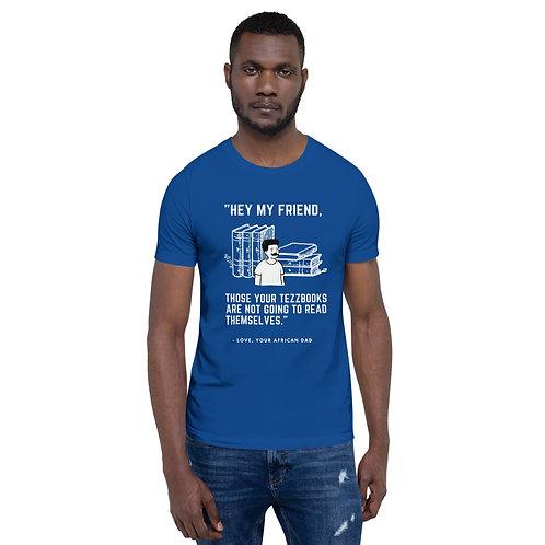 Tezzbooks Short-Sleeve Unisex T-Shirt