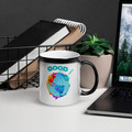 Good Around the Globe #Dogooder challenge #Dogooderchallenge, helping small businesses get loyal customers   corporate social responsibility meets the small business owner  color changing mug