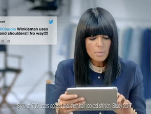 HEAD & SHOULDERS SUPREME | CLAUDIA WINKLEMAN