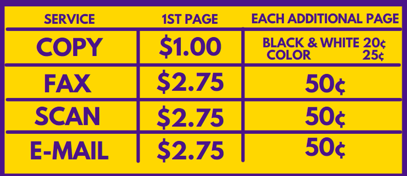 LJ HUB Office Services Prices.png