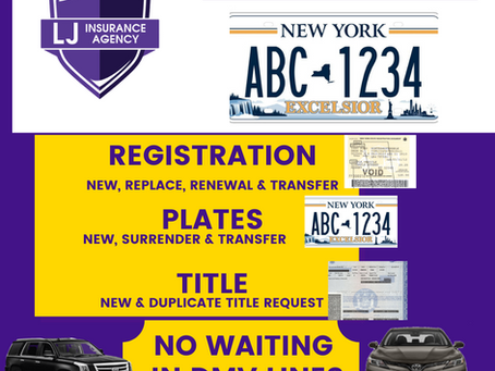 How to register new vehicle with DMV?