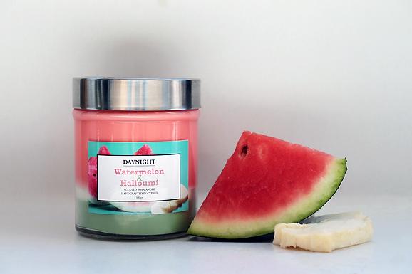 Watermelon & Halloumi Candle