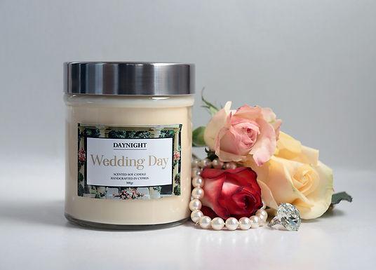 Wedding Day Candle