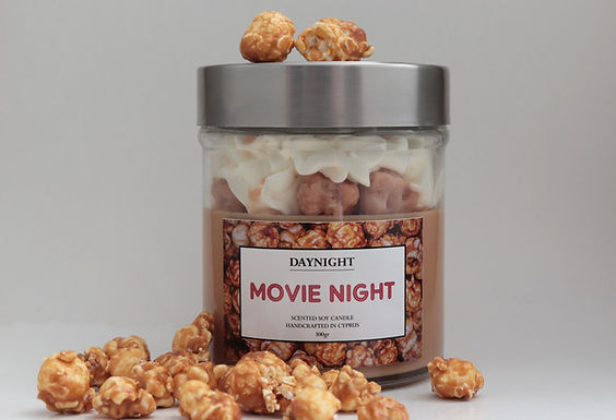 Movie Night Candle