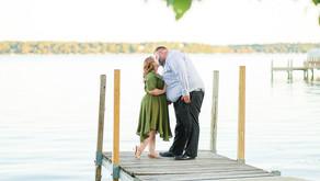 Rebecca & Josh | 1st Year Anniversary | Green Lake, WI