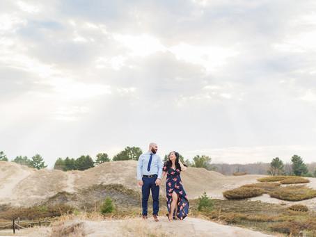 Hanny & Dan | Sun, Sand, and Love | Kohler-Andrae State Park, Sheboygan