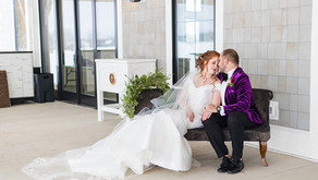 Velvet Gems Winter Wedding Styled Shoot | Carriage House at Lac La Belle