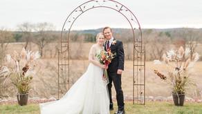 Marisa & Aaron | Hillside Fairytale | Waupaca, WI