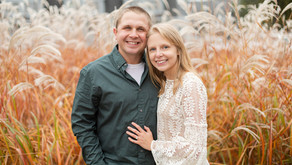 Taran + Austin | A Beautiful Autumn Engagement | Green Lake, WI
