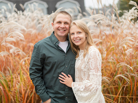 Taran + Austin | A Beautiful Autumn Engagement | Green Lake, WI