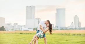Hannah & Brenden | A Walk in the Park | Milwaukee, WI