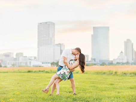 Hannah & Brenden | A Walk in the Park | Milwaukee, WI
