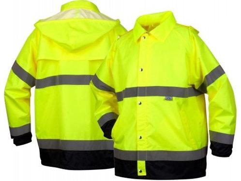 Premium Hi-Vis Rainwear Jacket