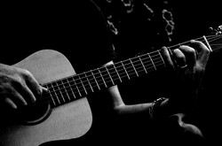 acoustic-acoustic-guitar-black-and-white