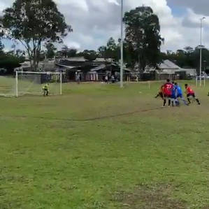 Measuring out your own penalty spot.mp4