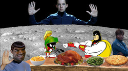 First Outer Space Thanksgiving