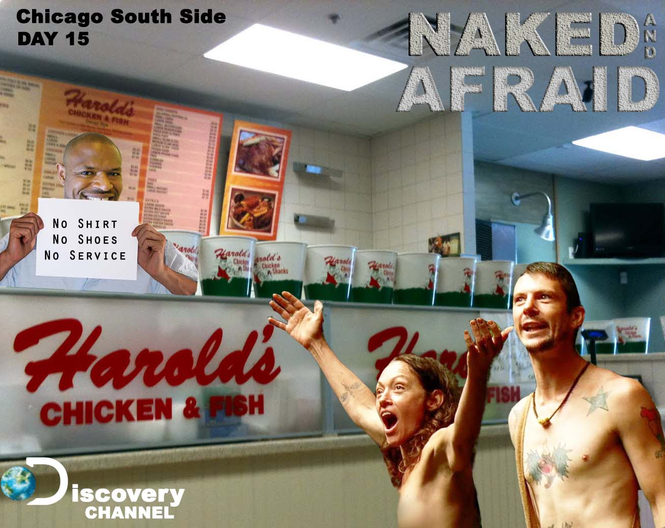Naked & Afraid Harold's
