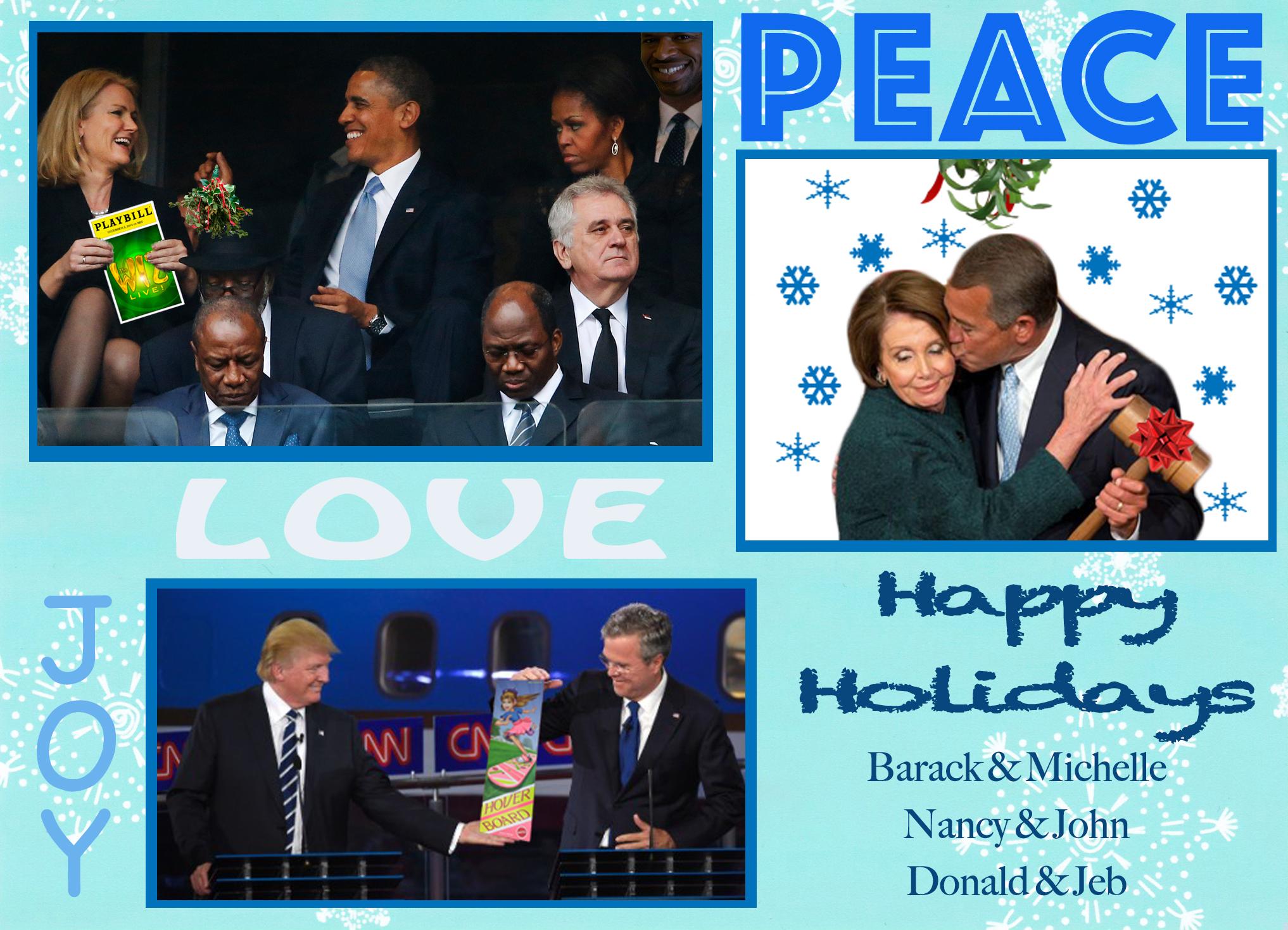 Peace, Joy & Love